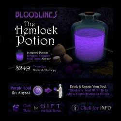 The Hemlock Potion