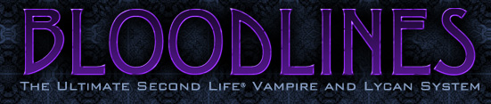 The Thirst: Bloodlines. The Ultimate Second Life Vampire and Lycan System